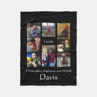 Davis-Familien-Decke Fleecedecke