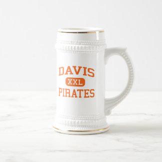 Davis - Piraten - Highschool - Yakima Washington Bierglas