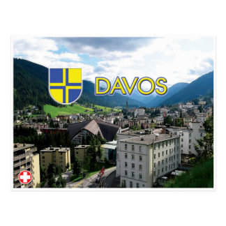 Davos- - Schweiz-Postkarte Postkarte