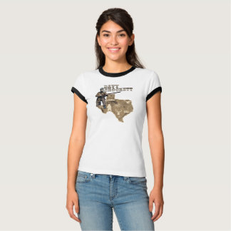 Davy Crockett eine 2. Wahl des amerikanischen T-Shirt