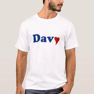 Davy mit Herzen T-Shirt