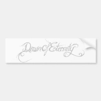 Dawn Of Eternity Logo Autoaufkleber