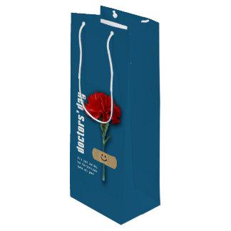 Day glücklicher Doktoren. Name Gift Bags Geschenktüte Für Weinflaschen