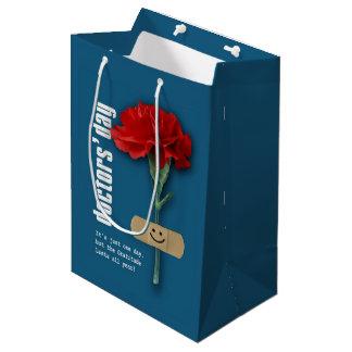 Day glücklicher Doktoren. Name Gift Bags Mittlere Geschenktüte