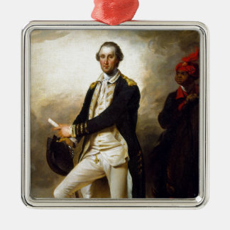 Day Präsidenten: George Washington Silbernes Ornament