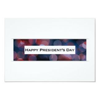 Dayglücklichen Präsidenten bokeh Karte