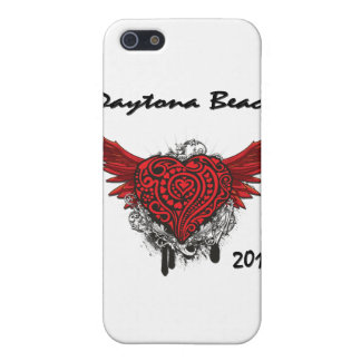 Daytona Beach, das rotes Herz 2011 fliegt iPhone 5 Case