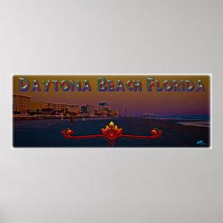Daytona Beach Florida an der Poster