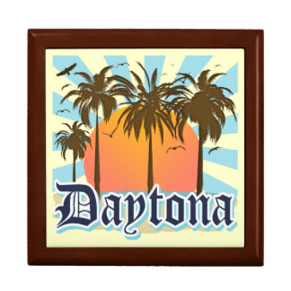 Daytona Beach Florida Große Quadratische Schatulle