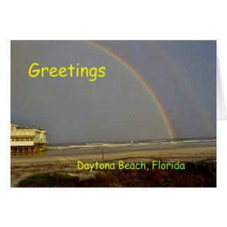 Daytona Beach Florida Grußkarte