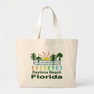 Daytona Beach Florida Jumbo Stoffbeutel