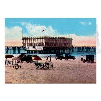 Daytona Beach, Florida-Kasino Grußkarte