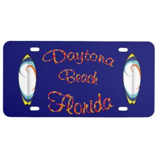 Daytona Beach Florida - Kfz-Kennzeichen US Nummernschild