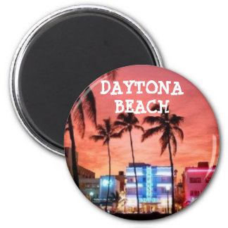 Daytona Beach, Florida Runder Magnet 5,7 Cm