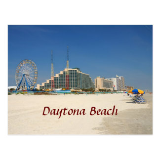 Daytona Beach Florida Postkarte