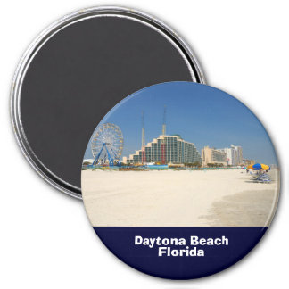 Daytona Beach Florida Runder Magnet 7,6 Cm