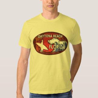 Daytona Beach Florida Surferkunst-Typt-stück Hemden