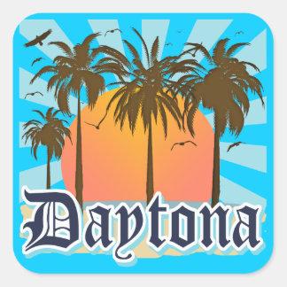 Daytona Beach Florida USA Quadratsticker