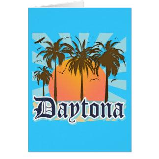 Daytona Beach Florida USA Mitteilungskarte