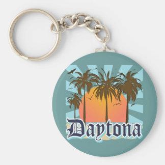 Daytona Beach Florida USA Standard Runder Schlüsselanhänger