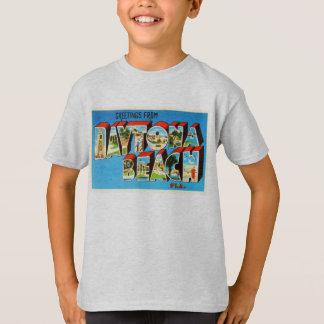 Daytona Beach Florida Vintage Reise-Andenken T-Shirt