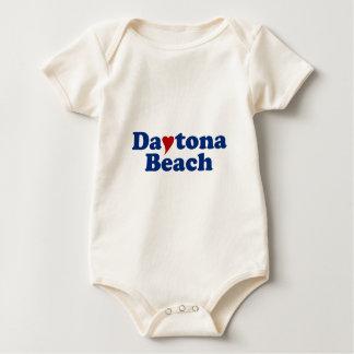 Daytona Beach mit Herzen Baby Strampler