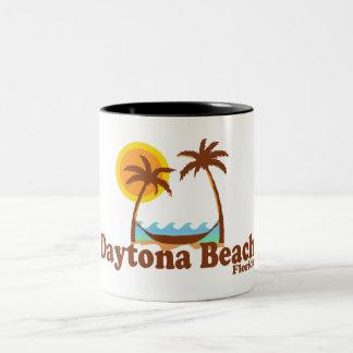 Daytona Beach. Zweifarbige Tasse