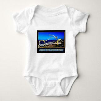 Daytona- BeachChopper, der gelbes Goldschwarzes T Baby Strampler