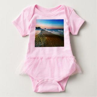 Daytona Beachküstenlinie und -promenade Baby Strampler