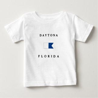Daytona Florida Alphatauchen-Flagge Baby T-shirt