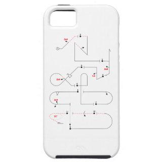 Dazwischenliegende Aerobatic Reihenfolge 2016 Etui Fürs iPhone 5
