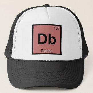 DB - Dubbel Bier-Chemie-Periodensystem-Symbol Truckerkappe