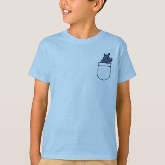 DB, Rhino in einem Taschen-Shirt T-Shirt