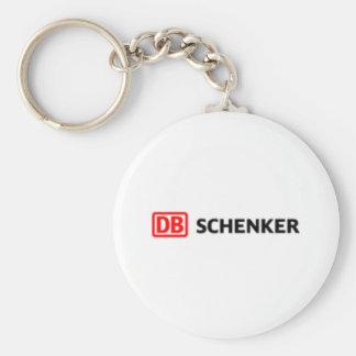 DB Schenker Standard Runder Schlüsselanhänger