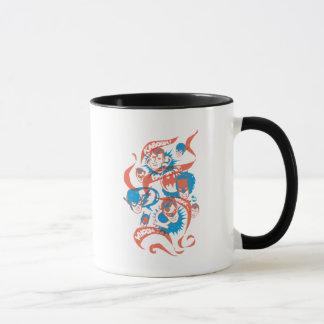 DC-Vorlagen - Logo-Explosion Tasse