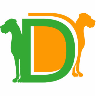 DD - Deutsche Doggen Freistehende Fotoskulptur