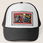 DDR-Briefmarke gedenkender Hans Beimler Truckerkappe