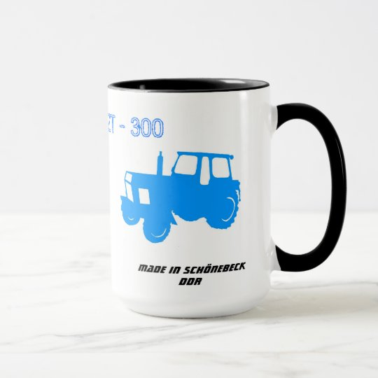 DDR Traktorentasse Tasse