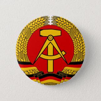 DDR Wappen Runder Button 5,7 Cm