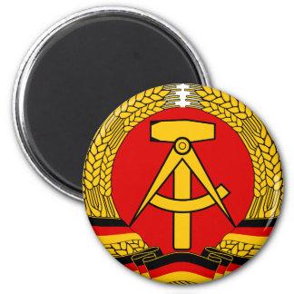 DDR Wappen Runder Magnet 5,7 Cm