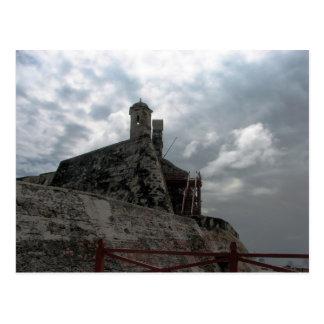 De Barajas Cartagena, Colom Castillo Des San Postkarte