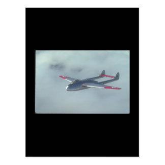 De Havilland-Vampir. (vampire_Military Flugzeuge Postkarten