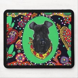 De Mayo Kerry-Blau-Terriers Cinco Mousepad