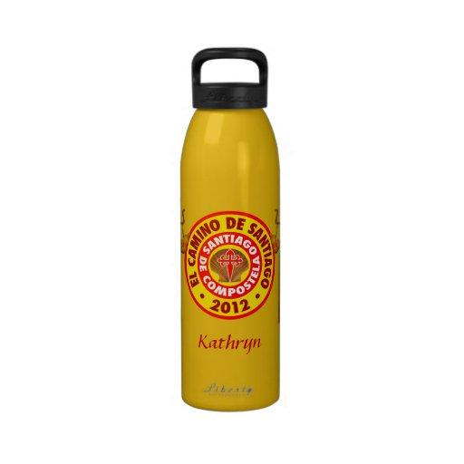 De Santiago 2012 EL-Camino Wiederverwendbare Wasserflasche