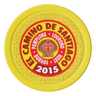 De Santiago 2015 EL-Camino Poker Chip Set