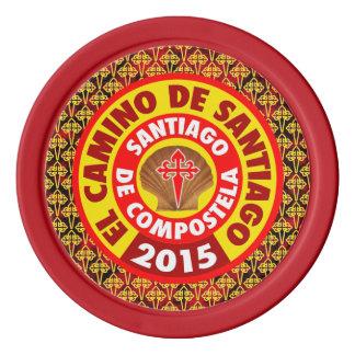 De Santiago 2015 EL-Camino Poker Chips