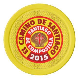 De Santiago 2015 EL-Camino Poker Chips Set