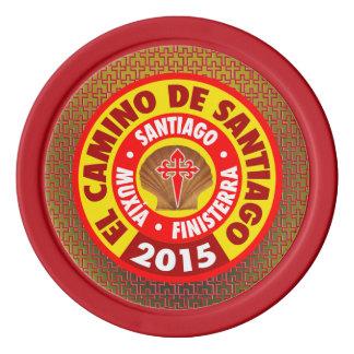 De Santiago 2015 EL-Camino Pokerchips