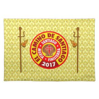 De Santiago 2017 EL Camino Tischset