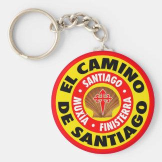 De Santiago EL Camino Schlüsselanhänger